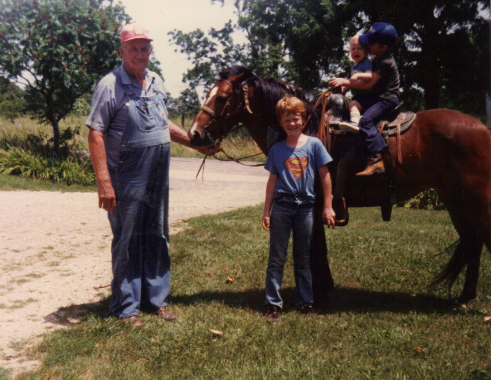 learned country boy redneck boys photo essay 1 courtesy of grandma this is obviously all three of us two important things for a country boy to have a grandpa and a horse said grandpa keeps just for you