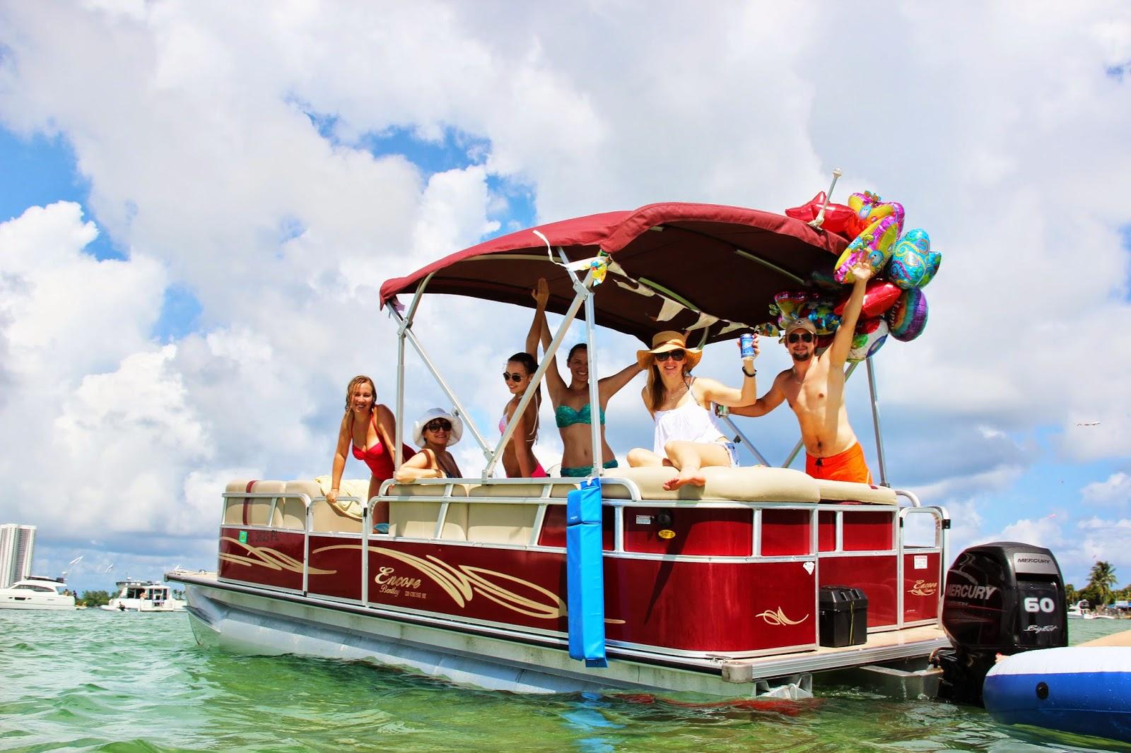 Miami Party Boat Rentals