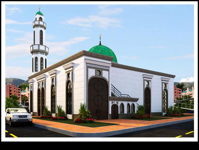 Islam espa a la nueva joya de los musulmanes en colombia - La casa de la mezquita ...