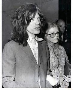 Mick Jagger e Marianne