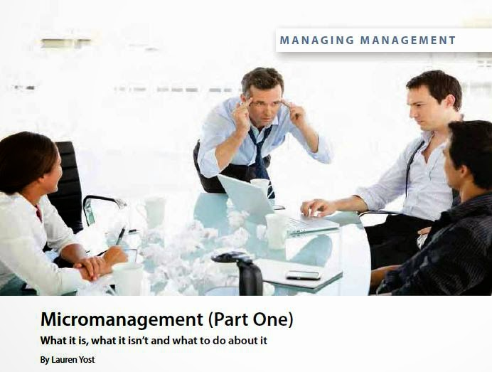 Micromanagement Part 1 by Lauren Yost