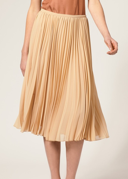 mon amie fashion the pleated skirt