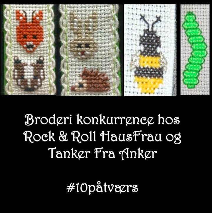 Jeg deltager i denne spændende konkurrende hos Rock & Roll HausFrau og Tanker Fra Anker