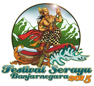 Logo - Maskot Festival Serayu Banjarnegara (FSB) 2015