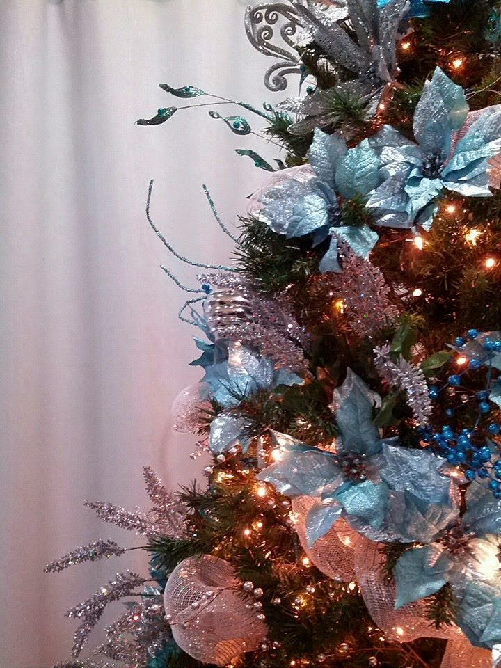 Seasontry Teal Christmas Tree
