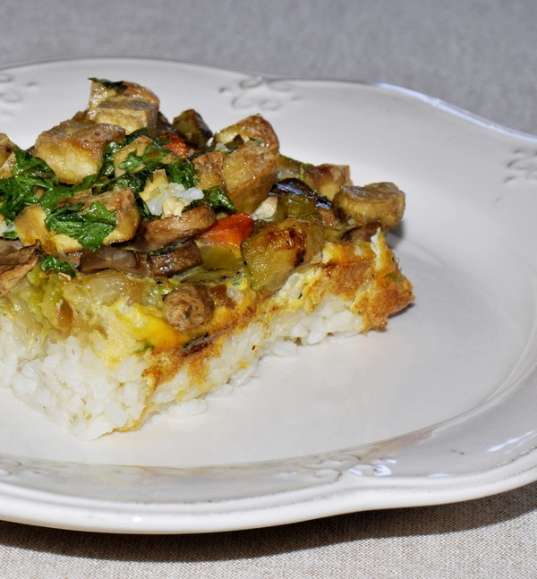 Tofu and vegetable
