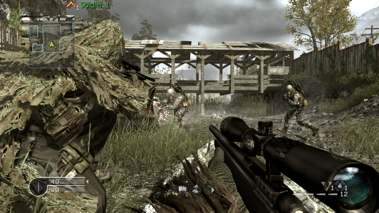 call of duty 4 modern warfare system requirement
