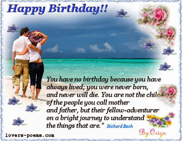 Suggestions Happy Birthday Love Quotes