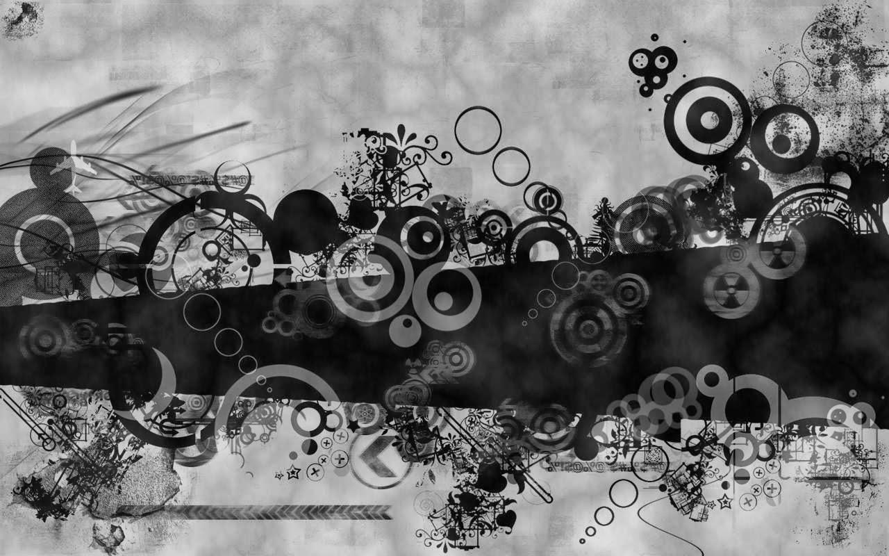 Imagenes hilandy fondo de pantalla abstracto circulos en for Fondo de pantalla blanco y negro