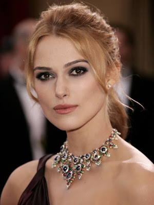 Keira Knightley Gemstone Statement Necklace