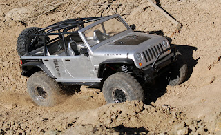 Axial SCX10 Jeep Wrangler Unlimited Rubicon MrBoo