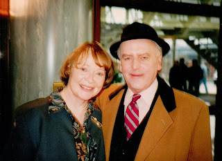 Daphne Neville with George Cole in 'Minder'