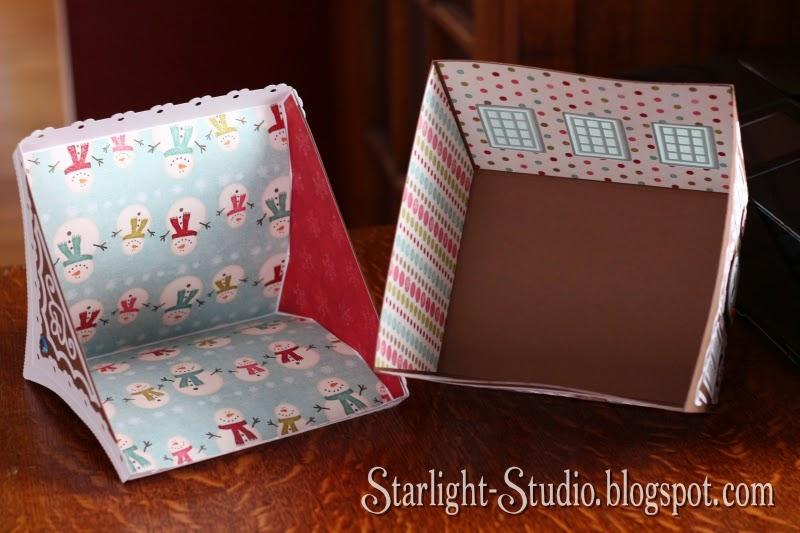 Starlight Studio: Gingerbread House Gift Box