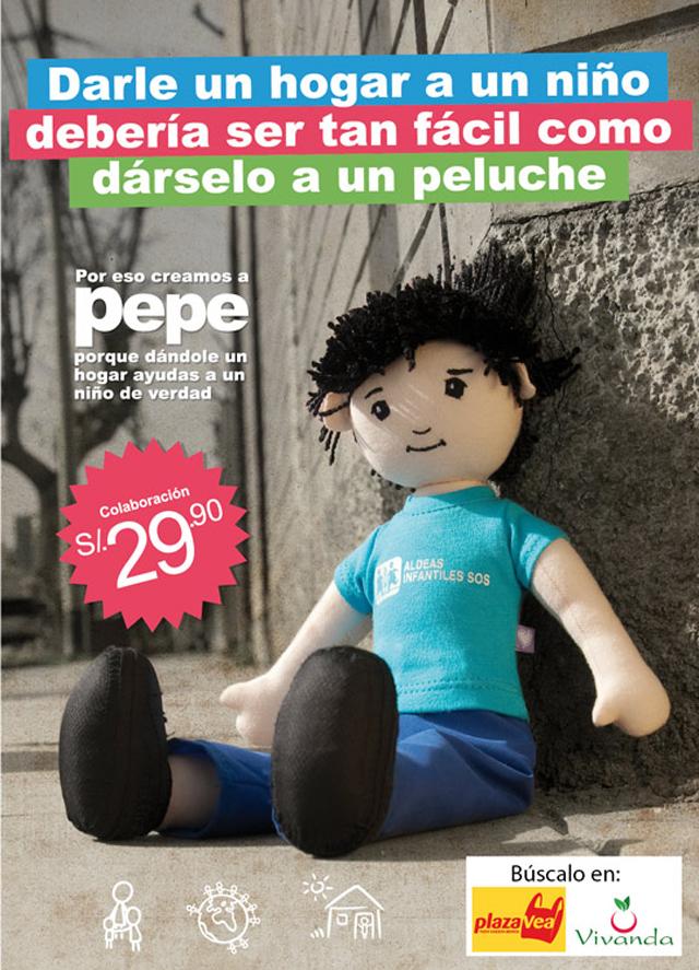 ALDEAS INFANTILES SOS PEPE VIVANDA PLAZA VEA