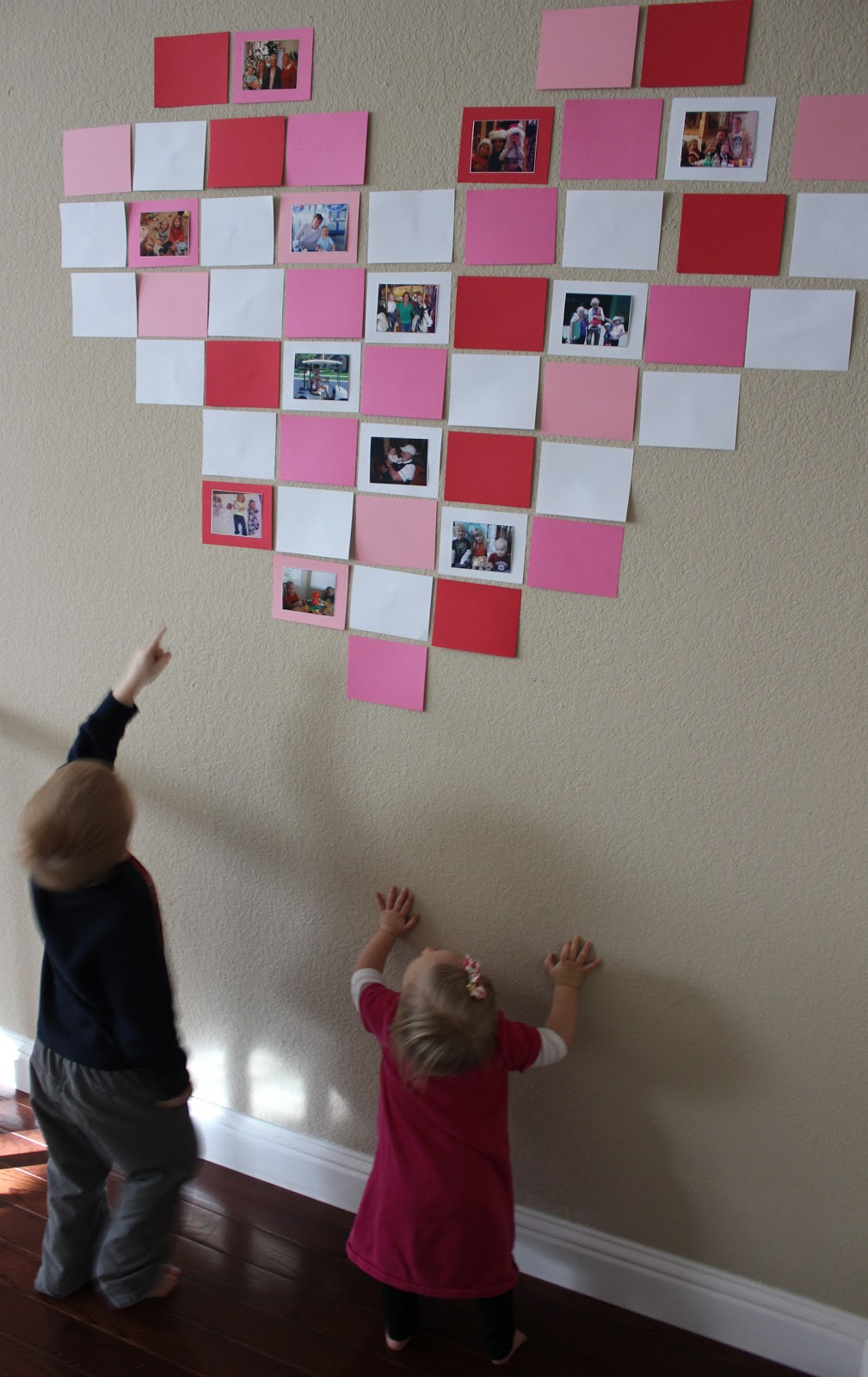 toddler approved wall o love