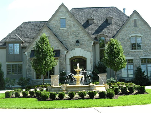Our French Inspired Home European Style Fountains And