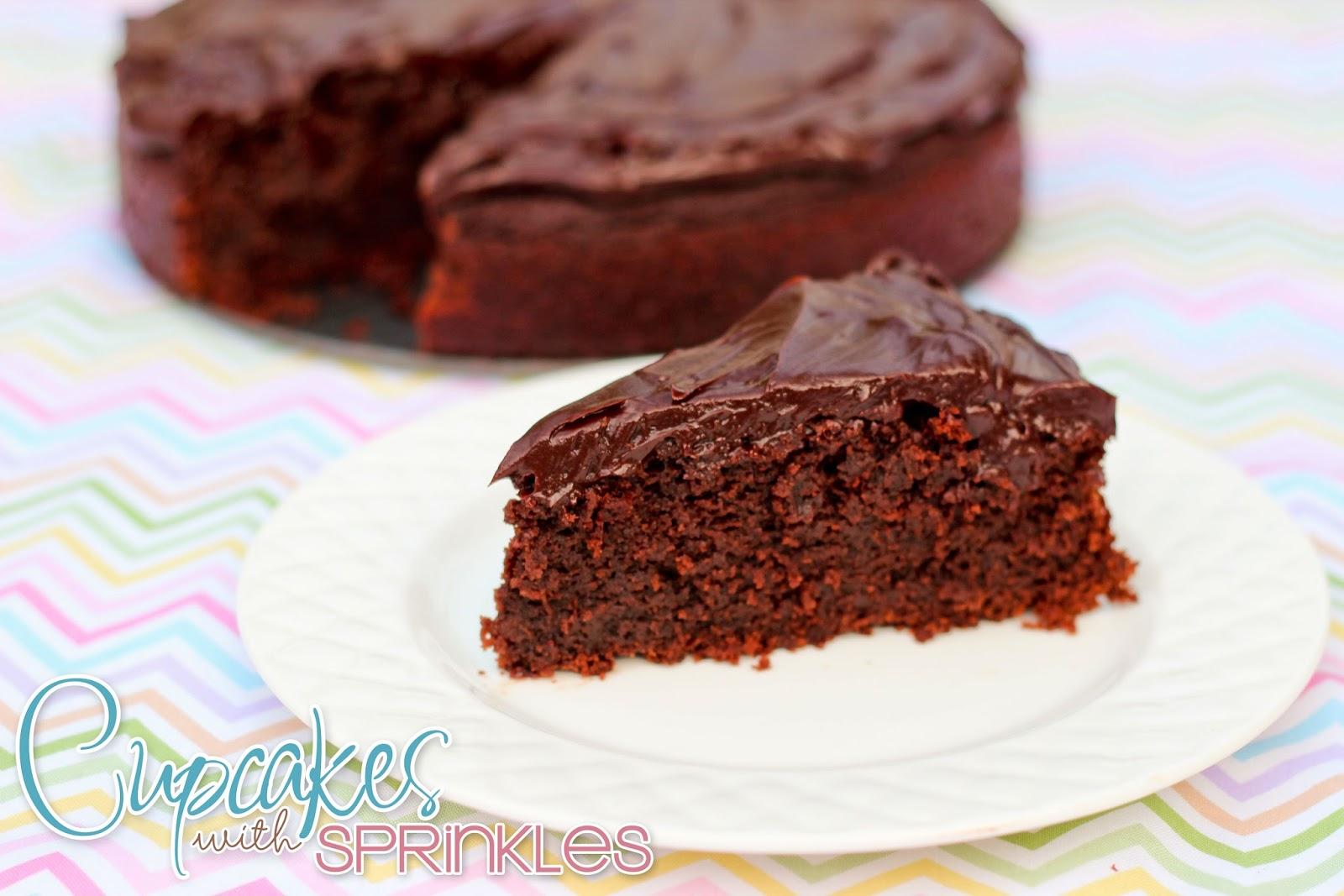 Cupcakes with Sprinkles: Chocolate Mud Cake