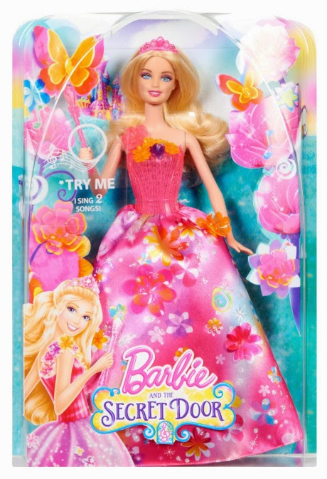 TOYS : JUGUETES - BARBIE y La Puerta Secreta  Muñeca Princesa Alexa Barbie and The Secret Door Princess Alexa Doll  Producto Oficial 2014 | Mattel BLP23 | A partir de 3 años