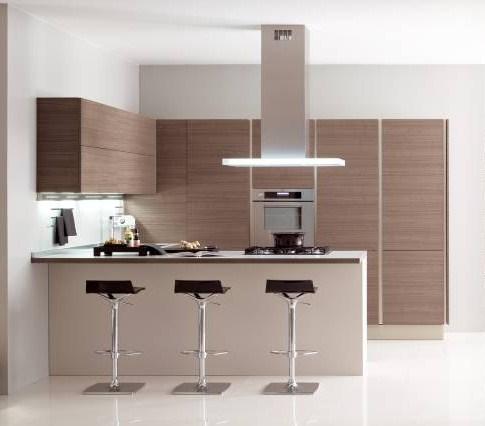 Dise o de cocinas con una pen nsula kansei cocinas servicio profesional de dise o y - Cocinas con peninsula ...