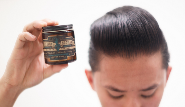 Review Iron Society Water Soluble Pomade
