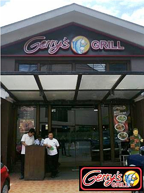 Gerry's Grill Tomas Morato Entrance