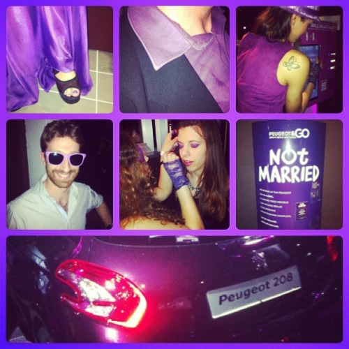 Peugeot 208 XY Purple Night Party 10 maggio Milano Bobino