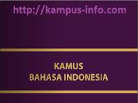 Kamus Bahasa Indonesia Lengkap A - Z