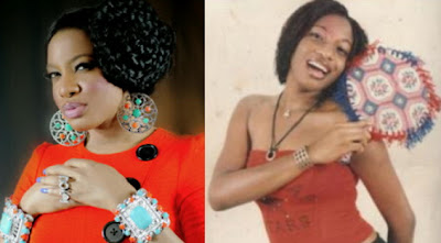 chika ike teenage pictures