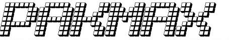 LotsOfDotz 3D font