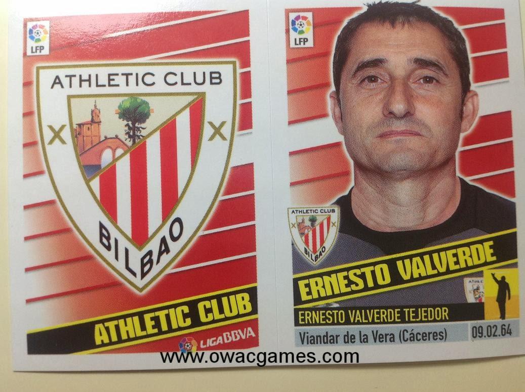 Liga ESTE 2013-14 Ath. Bilbao -Escudo - Entrenador