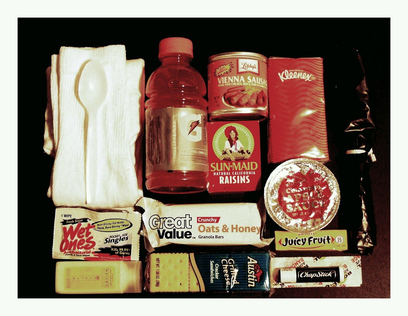 Homeless survival kit list dofe