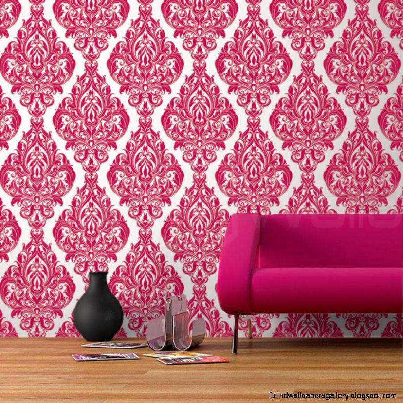 Pink flock wallpaper full hd wallpapers for Flock wallpaper