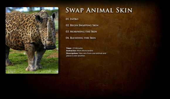 Swap Animal Skin
