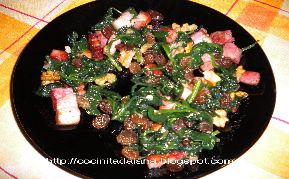 La cocinita de daiana espinacas salteadas for Cocinar espinacas