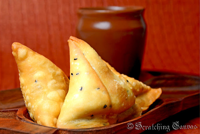 Mutton Keema Samosa Recipe