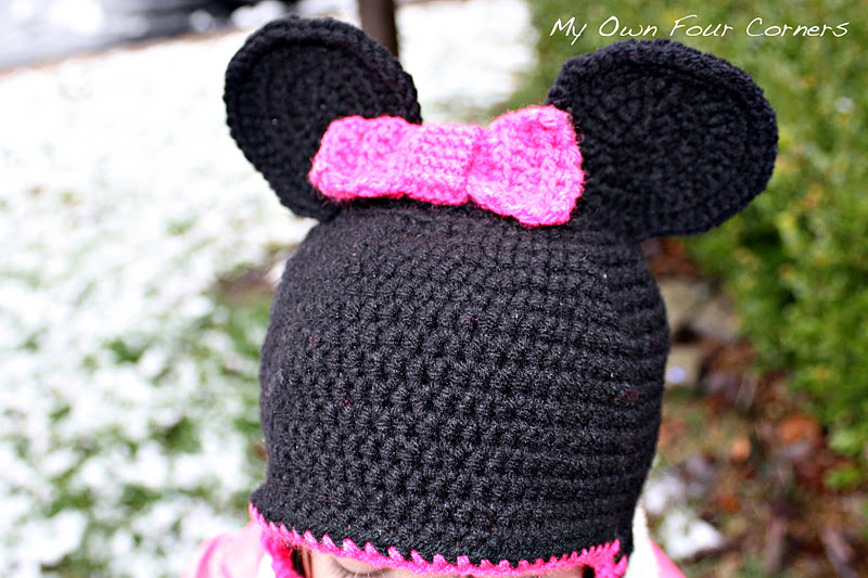Free Minnie Mouse Crochet Hat Pattern With Ear Flaps : Free Crochet Pattern For Mickey Mouse Shoes Joy Studio ...