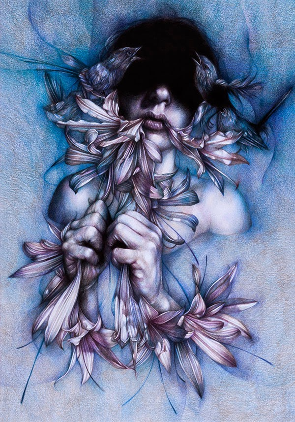 Drawings by Marco Mazzoni