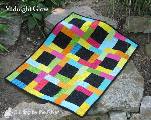 Midnight Glow tutorial @Quilting by the River
