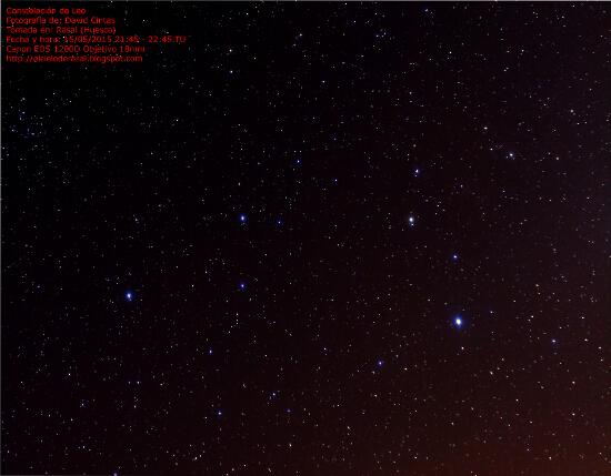Constelacion de Leo - El cielo de Rasal