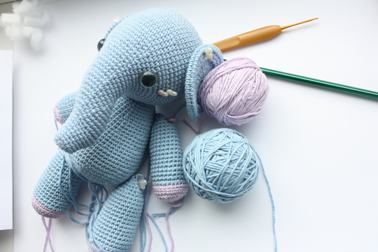 Crochet Elephant Pattern : One photo in P?rnu (called Summer Capital of Estonia). Photo taken by ...