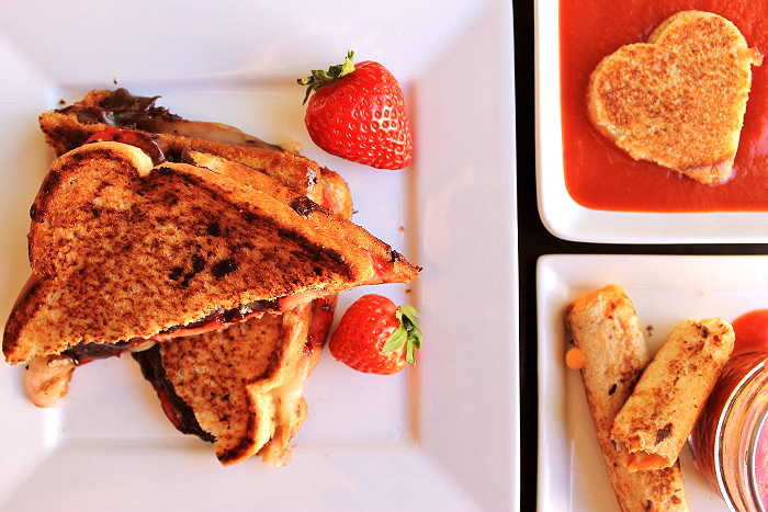Grilled Cheese 3 Ways #ShareYourCheesy #Client