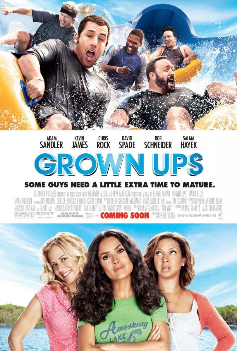 Grown Ups (2010) – Subtitulada Online