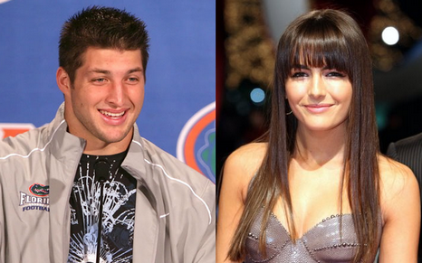 tim tebow girlfriend