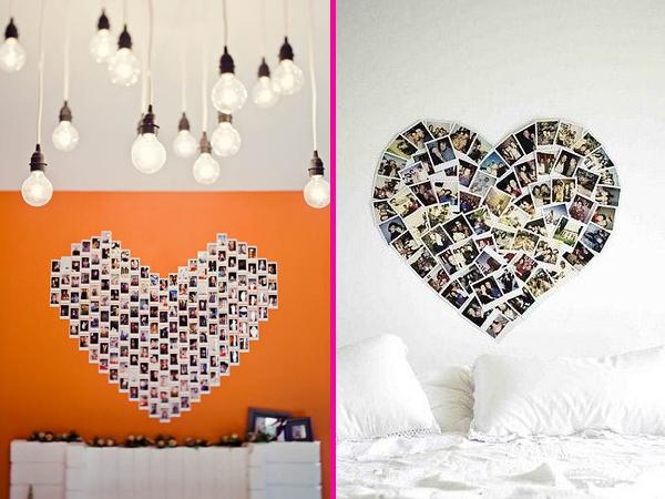 Coração Decoração Fotos Heart Home Decor Idea Photos