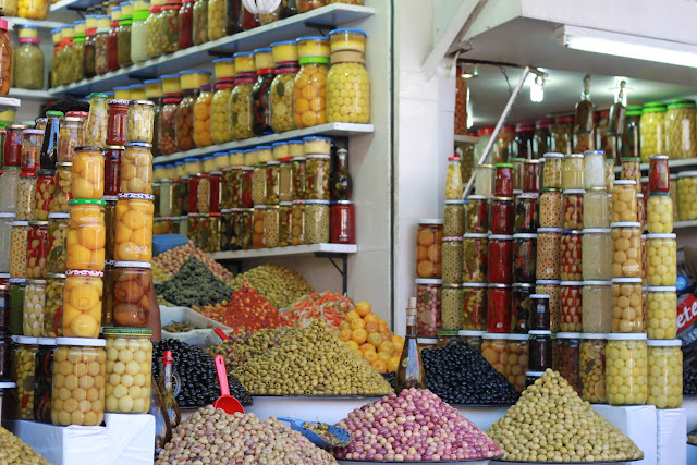 Marrakech - Olives - Souk