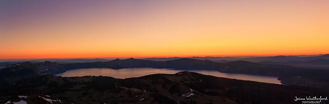 Mt Scott sunset hike crater lake national park southern oregon summer hiking Jaime Weatherford