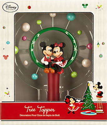 if you are a mickey mouse fan and have taken mickey and minnie to your christmas decor you might like to add this fun sweetheart themed tree topper to your