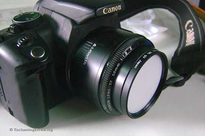 DIY Home made Lens Filter Expodisc