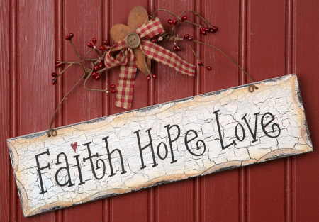Three strands of a christian marriage for Faith decor