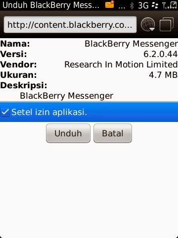 BLACKBERRY MESSENGER 6.2.0.44